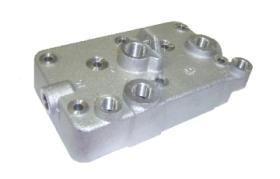 Air fren 011300135 - Culata De Agua Compresor 412.704.008.0