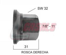 """CASALS 21302 - TUERCA 7/8""""-11 SW32"""