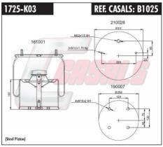 CASALS B1025 - SUS.NEUMATICA GIGANT ANTIGUO COMPLETO