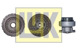 LUK 643301300 - Kit de embrague IVECO