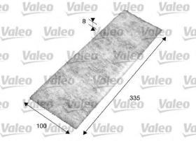 Valeo 716017 - Filtro de aire Antipolen MERCEDES