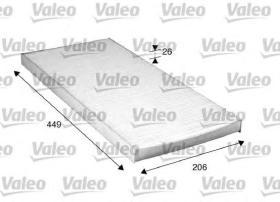 Valeo 716028 - Filtro de aire Antipolen MERCEDES
