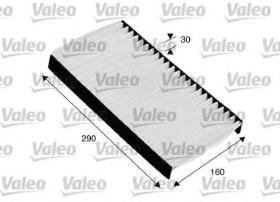 Valeo 716030 - Filtro de aire Antipolen IVECO