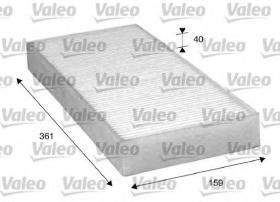 Valeo 716035 - Filtro de aire Antipolen MAN