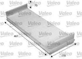 Valeo 716036 - Filtro de aire Antipolen MAN