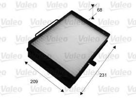 Valeo 716039 - Filtro de aire habitáculo MAN
