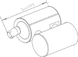 Dinex 28468 - Silencioso filtro de particulas EURO V IVECO