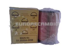 Man 51055040098 - Filtro de Aceite  Cartucho MAN