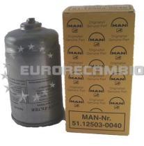 Man 51125030040 - Filtro de Aceite Cartucho MAN