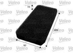 Valeo 716009 - Filtro de aire Antipolen DAF