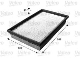 Valeo 716045 - Filtro de aire Antipolen VOLVO