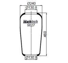 Black Tech RL9027 - FUELLE CABINA AD RENAULT