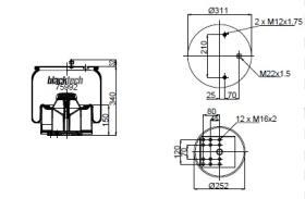 Black Tech RML7992CP