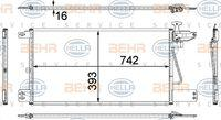 Hella 8FC351307721 - CONDENSADOR MB ACTROS(SKN V)