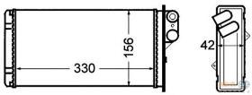 Hella 8FH351308521 - CONDENSADOR IVECO STRALIS
