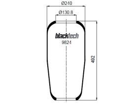 Black Tech RL9824 - Fuelle Suspension VOLVO