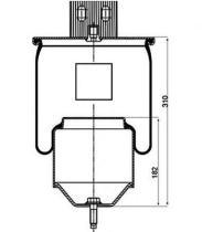 Firestone W01M588474 - Fuelle Suspension VOLVO
