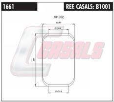 CASALS B1001 - FUELLE SUS.NEUMATICA 644N