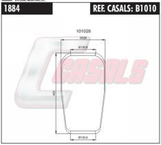 CASALS B1010 - BOTELLA SUS.NEUMATICA MAN 882N1