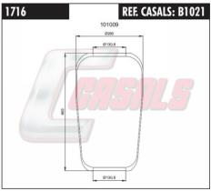 CASALS B1021 - BOTELLA SUS.NEUMATICA MAN 916N