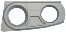 Qtc INS107 - Cubierta derecha faros auxiliares IVECO STRALIS