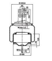 Firestone W01M588660 - Fuelle Suspension