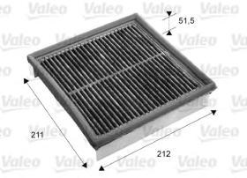 Valeo 716053 - Filtro de aire Antipolen VOLVO