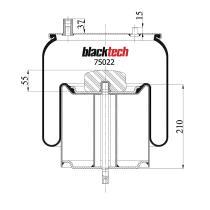 Black Tech RML75022C - Fuelle Suspension  VOLVO