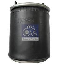 Diesel Technic 261027 - Fuelle de suspensión neumática
