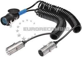 TRUCKLINE 71112000 - Espiral electrica helicoidal 15 polos 24 V