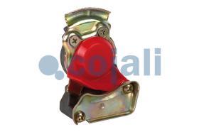 Cojali 6001426 - CABEZA ACOPLAMIENTO FILTRO-M16X150-CONEXION DE AIRE AMARILLA