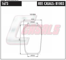 CASALS B1003 - FUELLE SUS.NEUMATICA 662N