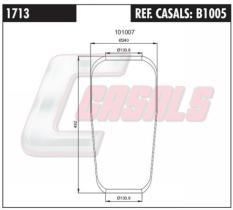 CASALS B1005 - FUELLE SUSP. NEUMATICA 701N