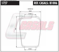 CASALS B1006 - FUELLE SUSP. NEUMATICA VOLVO 713 N