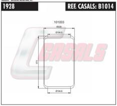 CASALS B1014 - BOTELLA SUS.NEUMATICA VOLVO 927 N